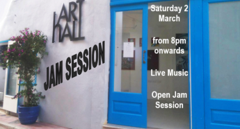 Open Jam session next month at Arthall Gallery in Victoria