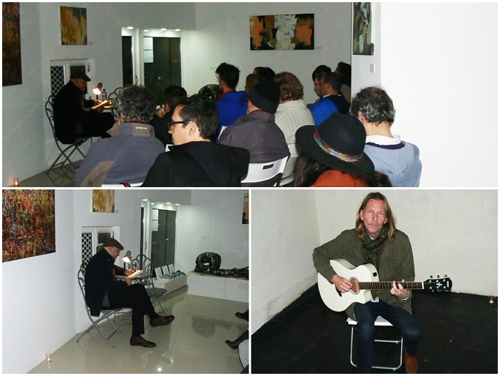 An enjoyable evening of philosophy, art, culture and music
