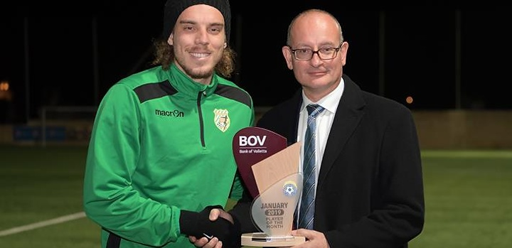 Felipe Augusto de Oliveira is the BOV GFA Player of the Month