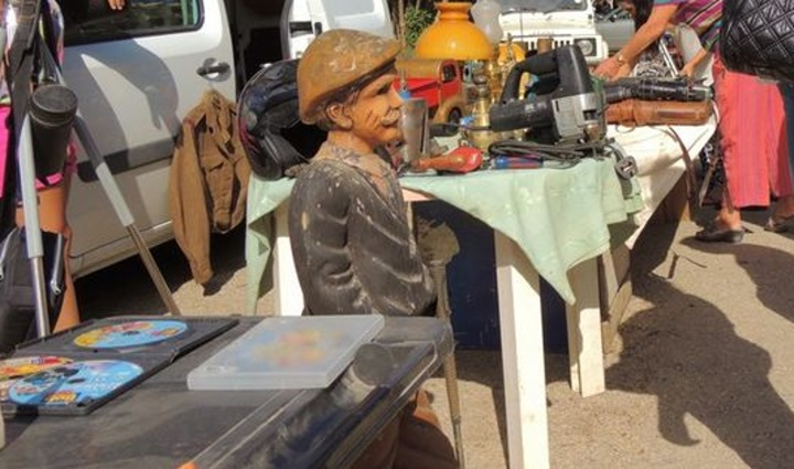 Victoria charity car boot sale in aid of Friends of the Sick and Elderly Gozo