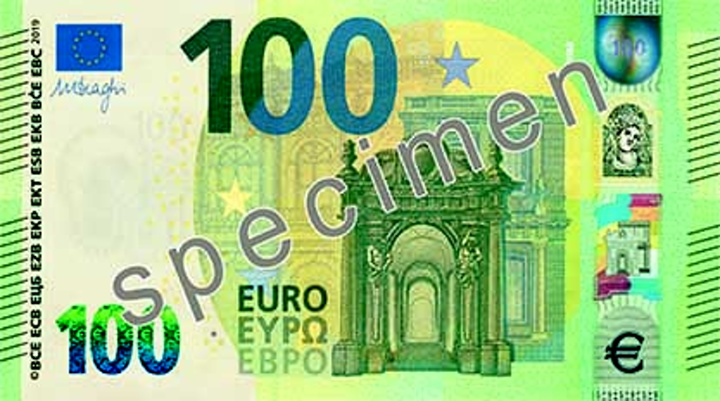 New Europa Series €100 and €200 banknotes will be issued in May