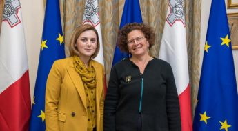 French Ambassador pays courtesy visit to the Minister for Gozo