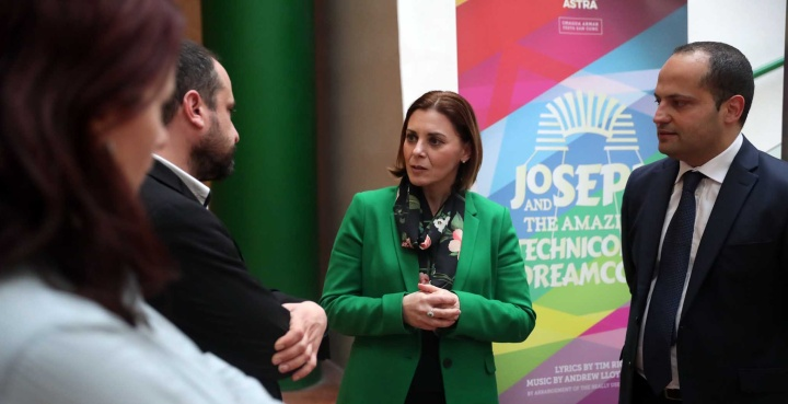 Joseph and the Amazing Technicolor Dreamcoat has its official launch