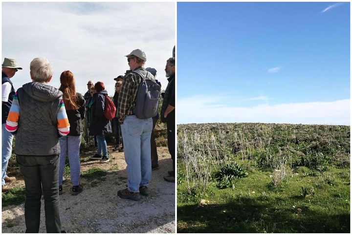 Gozo Wild Orchid Project 2019 orchid citizen scientist team