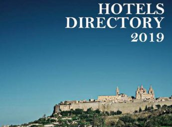 20th edition of the Hotels Directory published for Malta and Gozo
