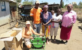 Two families in Kenya now have water thanks to Gozo students