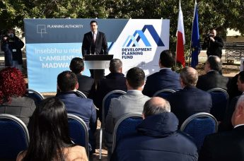 Nadur Council to receive funds from PA's Development Planning Fund