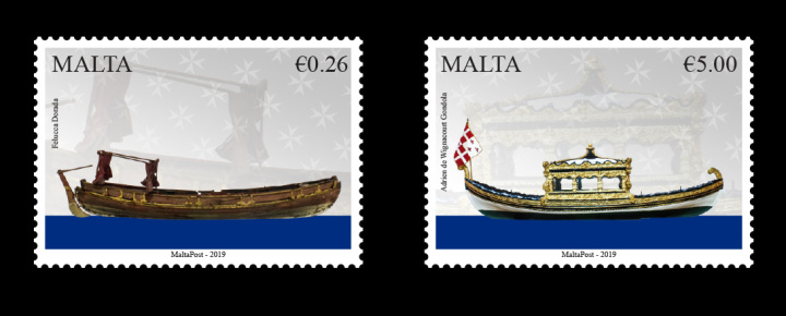 Maritime Malta Series VII - Vessels of the Order, new stamp issue