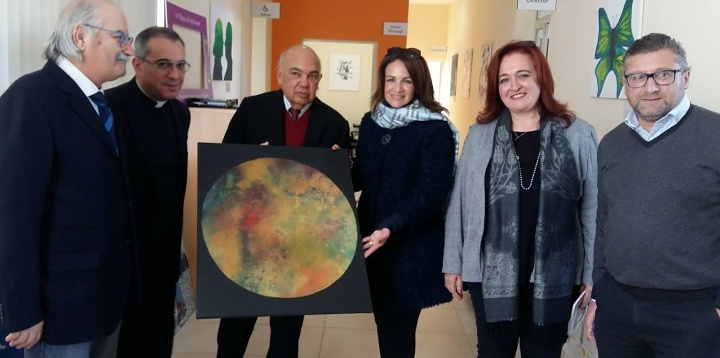 Michelle Muscat pays a visit to the FSWS Gozo Branch Operations