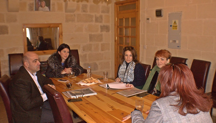 Work of the OASI Foundation discussed during visit by Michelle Muscat
