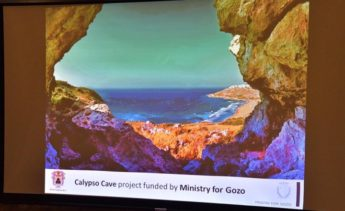Wirt Ghawdex study on status of Calypso Cave financed by Gozo Ministry