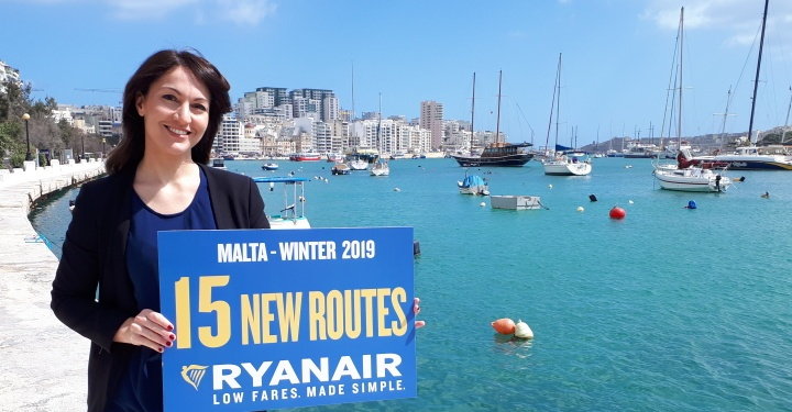 Ryanair launches winter schedule, 15 new routes and seat sale