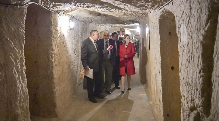 Restoration work on Citadel World War II Air-Raid shelters inaugurated