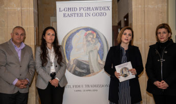 Gozo Easter programme of activities launched - Art, Faith and Tradition