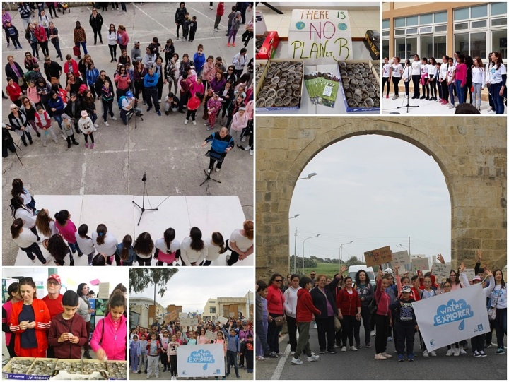 Hundreds take part in GC Middle School Climate Action Fun Walk