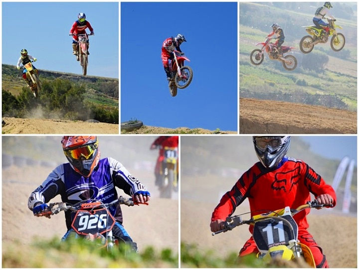 Class A riders dominate the Gozo Motocross Championship - Quarter Finals