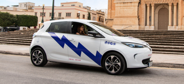 Almost 4,500 drivers registered to use GoTo's electric car sharing service