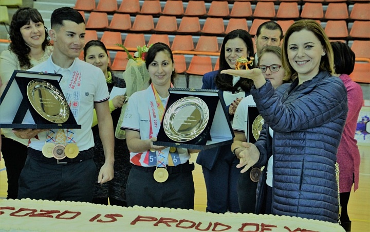 You made Gozo Proud - Gozo's Special Olympics team members