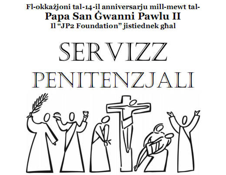 Penitential Service to commemorate anniversary of Saint John Paul II