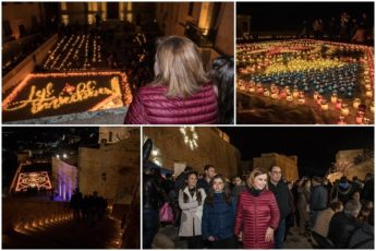 Lejl Imkebbes evening of candles a huge success at the Citadel