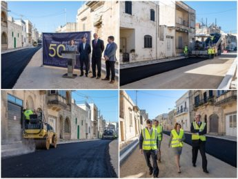 Project Gozo: Reconstruction of 50 roads across the island