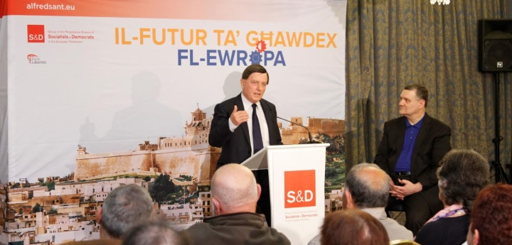 Gozo must benefit from European decisions, just as larger countries do - Sant