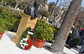 Bust to commemorate Mro Joseph Vella unveiled at the Villa Rundle