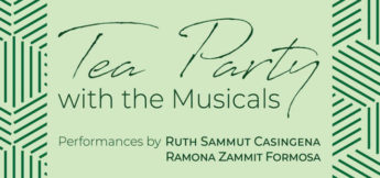 Tea Party with the Musicals - Sunday afternoon of tea delights and music