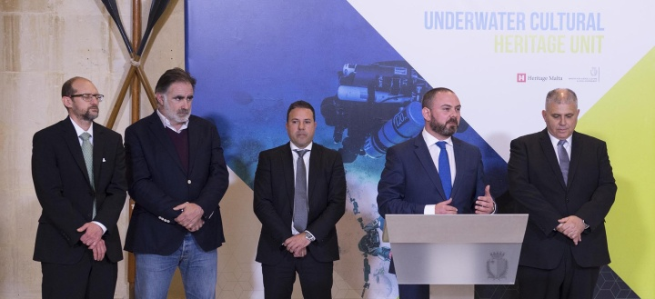 Underwater Cultural Heritage Unit to protect underwater cultural assets