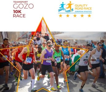 5-Star Race Certification awarded to Gozo Half Marathon 10K