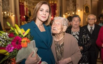 103rd birthday celebration Mass for Carmen Vella of Qala