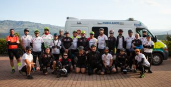 EFRU fundraiser Sicily Cycling Tour with largest participation to date