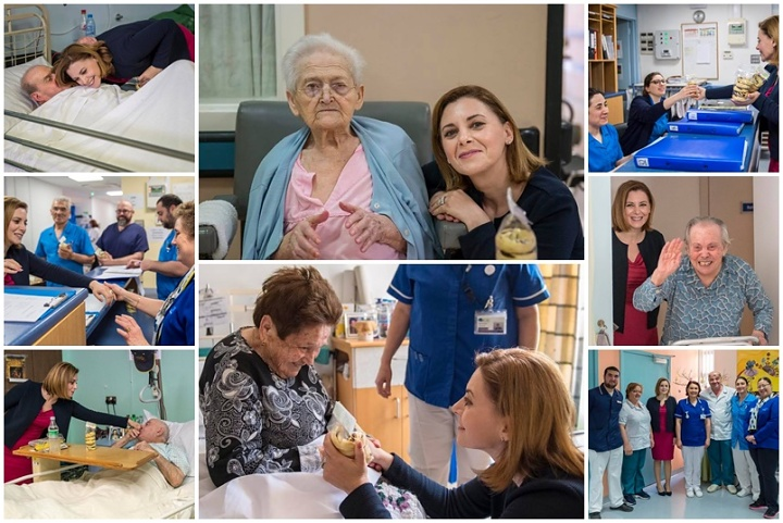 Minister for Gozo pays Easter visit to the sick and elderly at Gozo Hospital