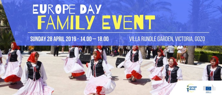 Family event and debate with MEP candidates for Europe Day in Gozo
