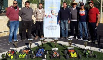 Gozo Model Car Association race day at Fly to Smile Event
