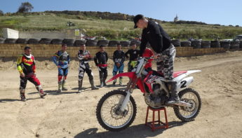 Gozo riders take part in a 2-day Motocross Master Class