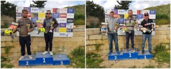 Gozo Model Car Association Championship 9th round winners