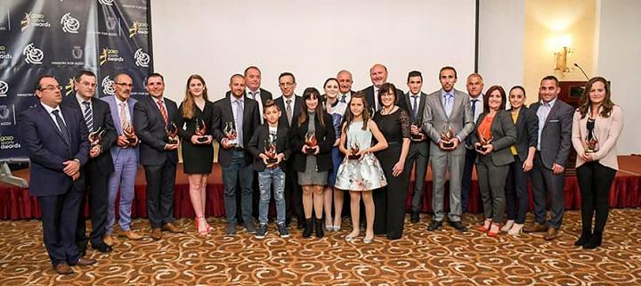 Gozo Sports Awards Finals celebrating sports personalties