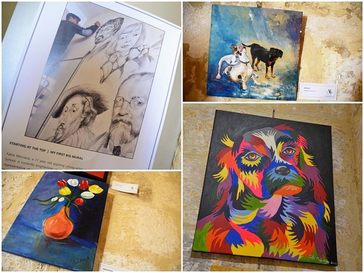 Exhibition by students of the Gozo VPA School receives much acclaim