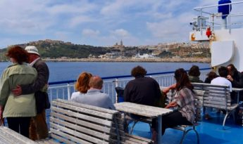 125,000 tourists visited the Maltese Islands during February