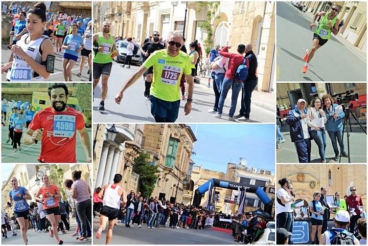 Blue skies welcome Gozo Half Marathon participants on Sunday