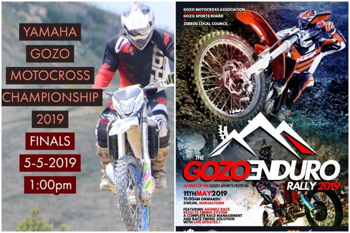 Gozo Motocross Championship final and Enduro Rally coming up