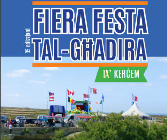 35th edition of Fiera Festa tal-Ghadira taking place in Kercem