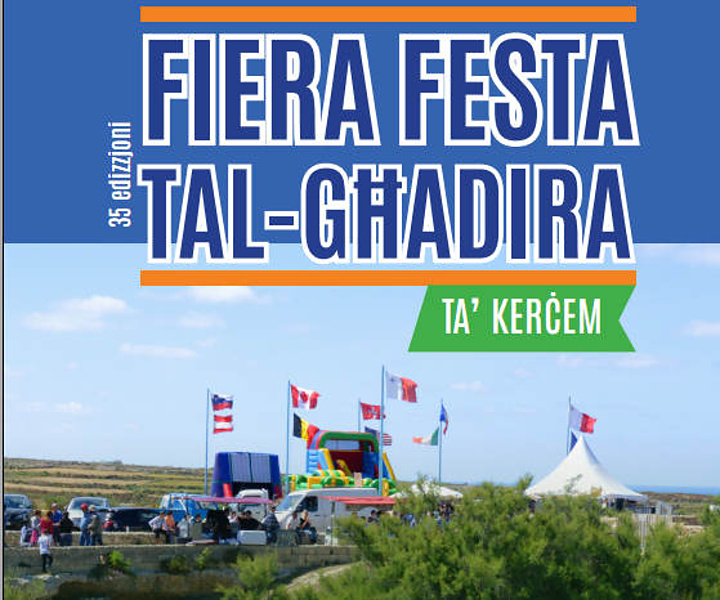 35th edition of Fiera Festa tal-Ghadira taking place in Kercem