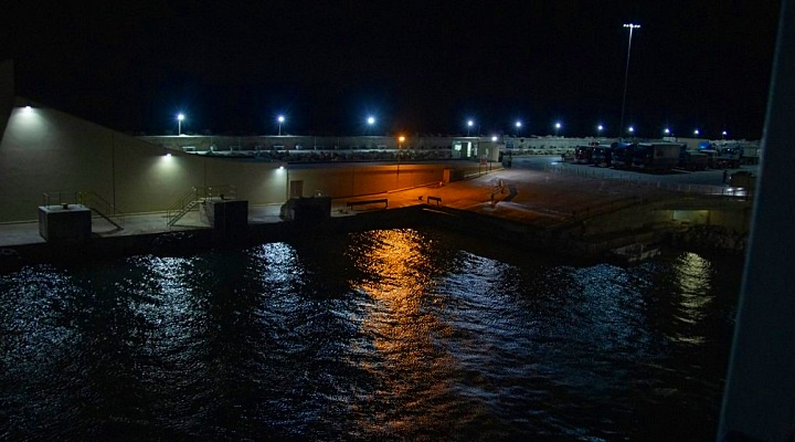 New lantern for Gordan lighthouse and new LED lights at Mgarr Harbour