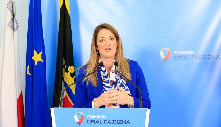 "MEP Metsola calls for EU funds for Gozo to be ""more flexible"""