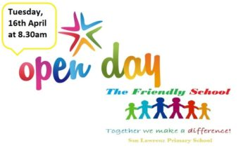 Open Day and Fun Day at San Lawrenz Primary - The Friendly School