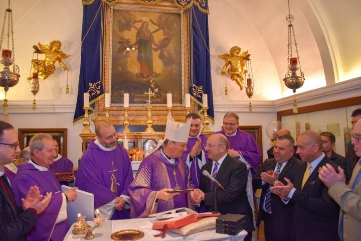 Bishop Grech leads Mass at Ta' Pinu Sanctuary for Kordin inmates