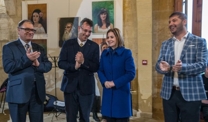 Gozo VPA School opens its 5th annual Art Exhibition in Victoria