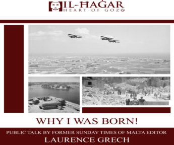 I was born thanks to the war - Public talk at Il-Hagar, Gozo